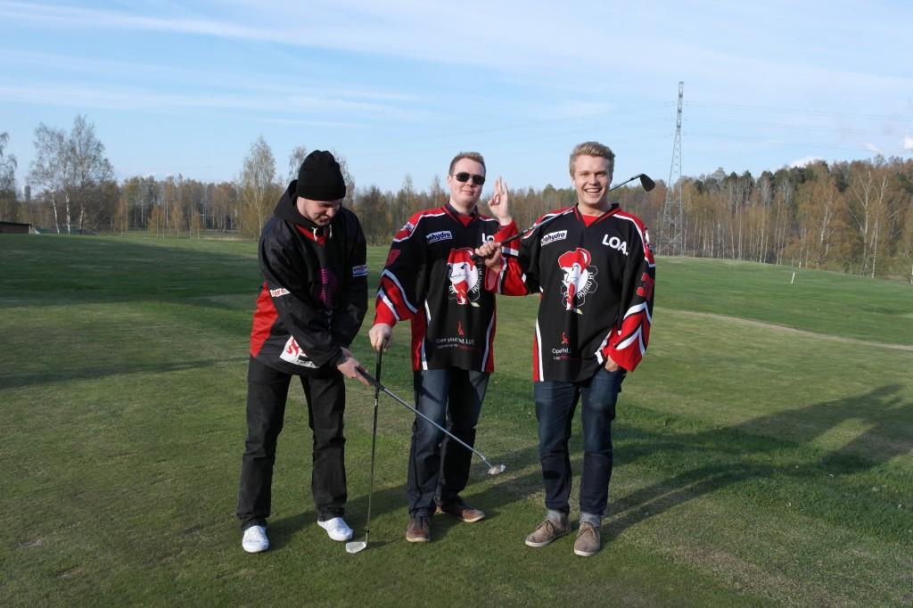 Teukan tavoin: Talvella kiekkoo ja kesällä golfia!